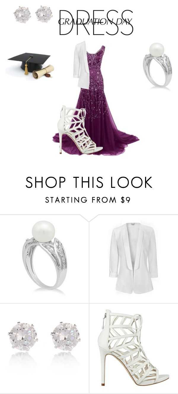 """""""Graduation Dressup"""" by sasisfashion on Polyvore featuring Glamorous, River Island, GUESS and graduationdaydress"""
