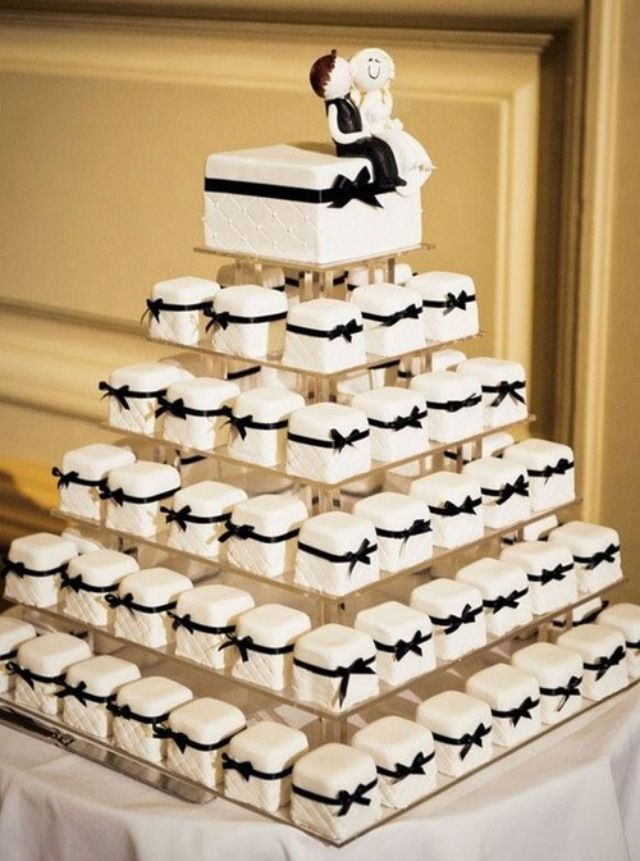 Love This Idea For A Wedding Mini Cakes Each Guest