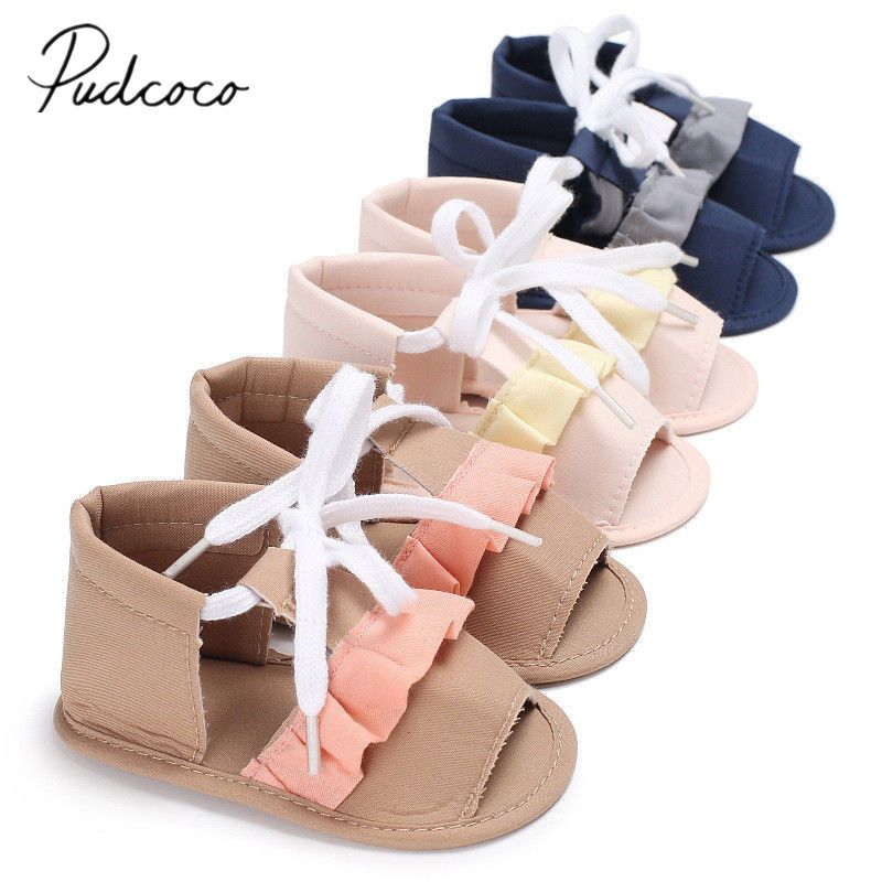 Summer Baby Boy Girl Anti-Slip Shoes Sandal Toddler Soft First Walker Prewalkers