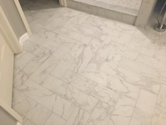 Polished Porcelain Floor And Wall Tile, Porcelain Bathroom Tiles Home Depot