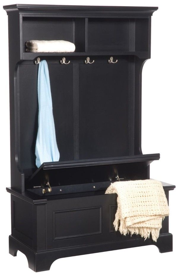 furniture remarkable large entryway storage bench from solid wood material with black paint color for furniture  sc 1 st  Pinterest & furniture remarkable large entryway storage bench from solid wood ...