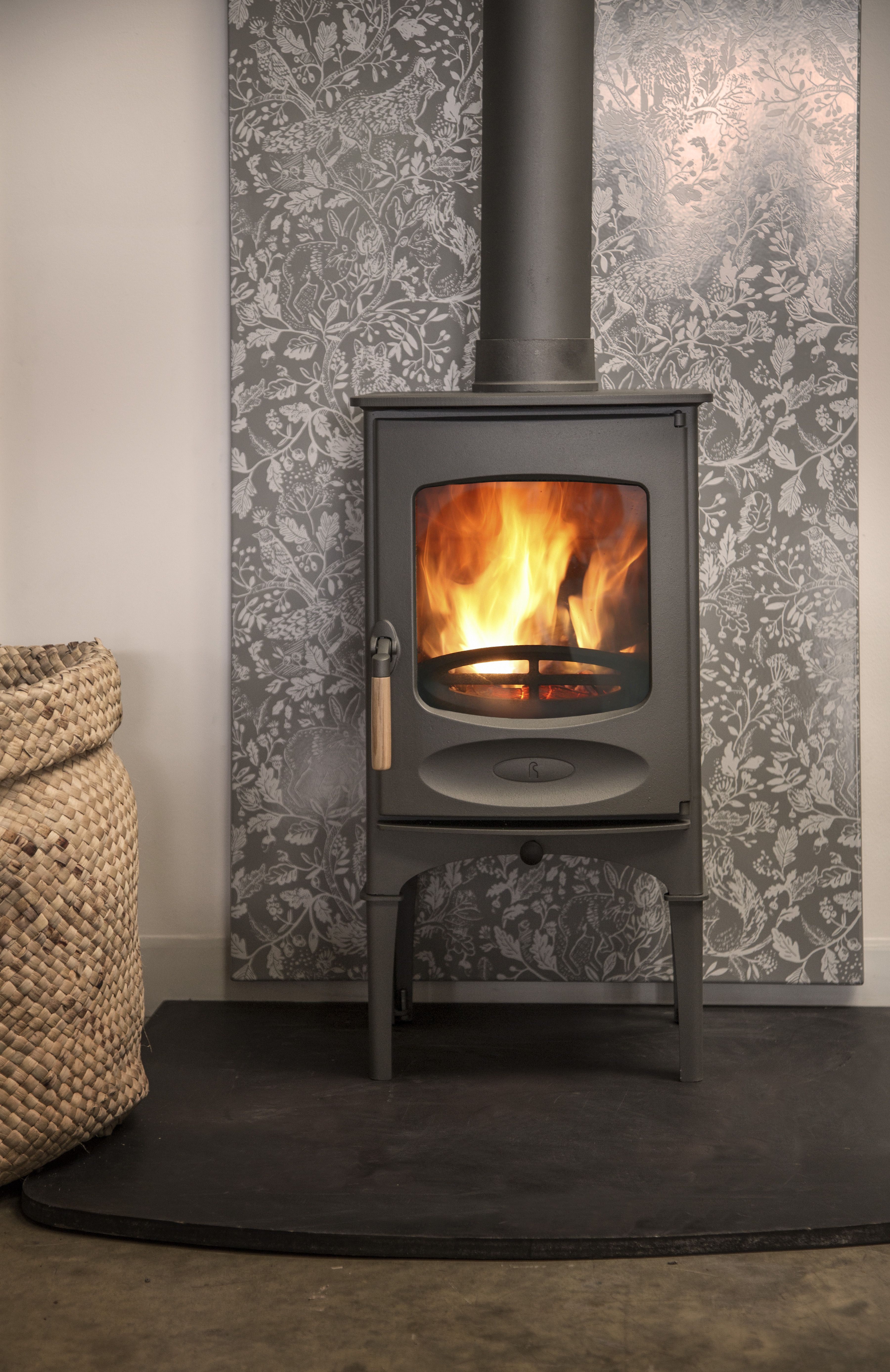 Charnwood C5 With Logstore Tiny Fireplace Ideas In Stove