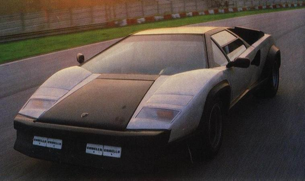 Vs Design 1987 Lamborghini Countach Evoluzione One Ex Experimental