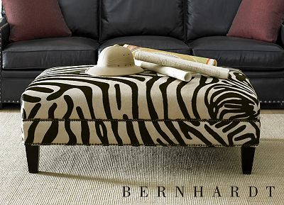 Love The Zebra Ottoman Coffee Table At Havertys For The