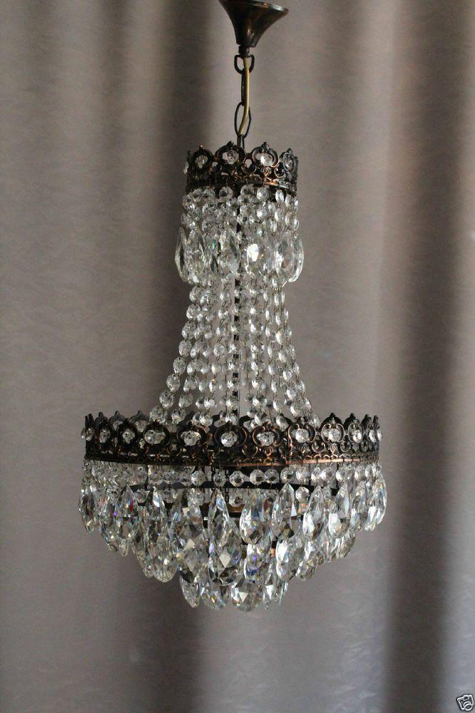 Perfect  chandelier kronleuchter crystal kristall vintage antik antique royalleuchten