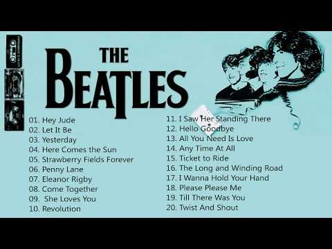 The Beatles Greatest Hits Full HD | Best Of The Beatles Full