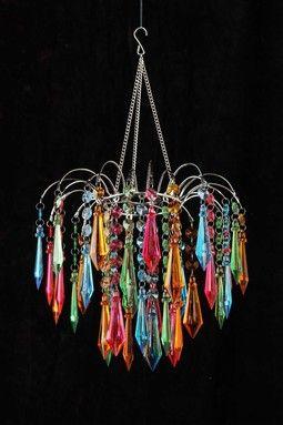 HauteLook | All Is Bright: Our Favorite Lighting: Multi Rainbow Star Chandelier
