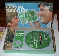 Crystal Radio Kit That Radio Shack Used To Sell Back In The Day Radio Kit Old Radios Radio