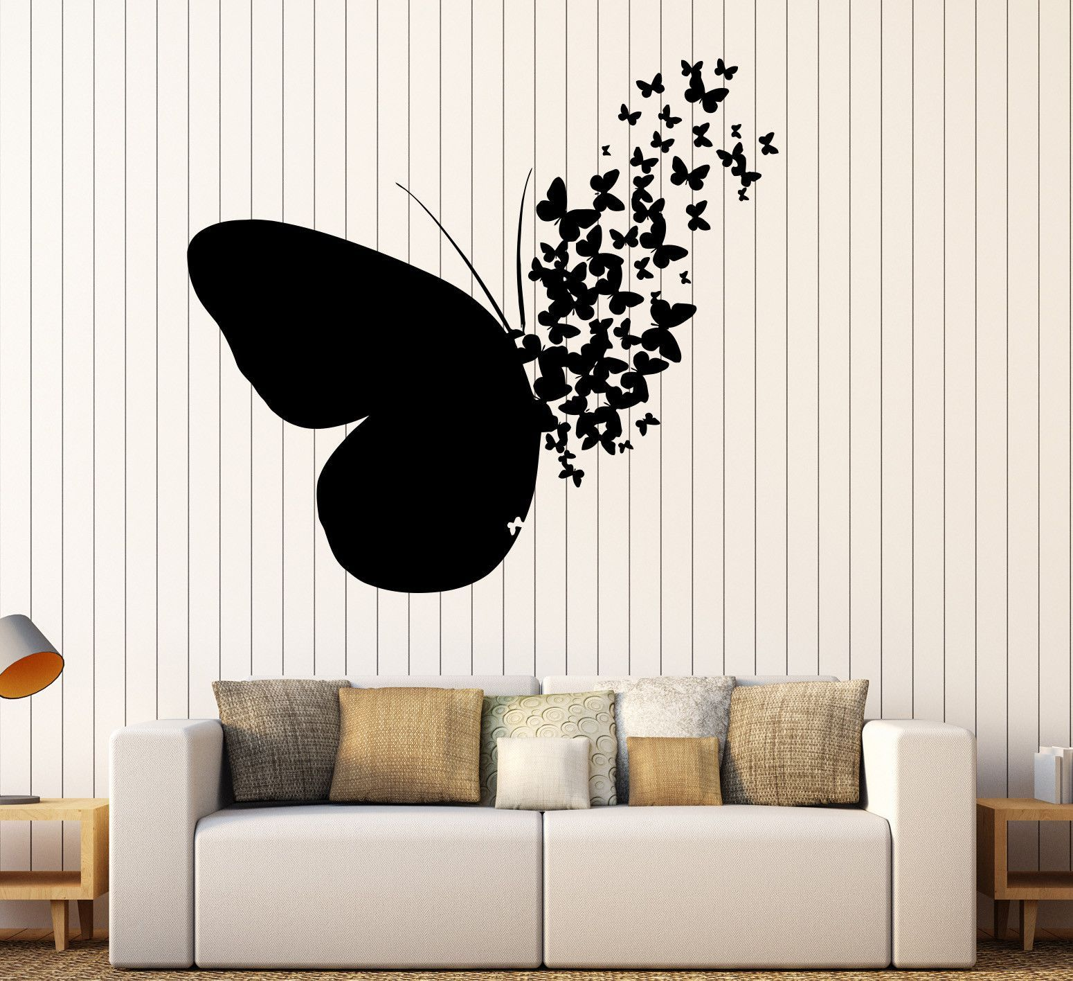 Vinyl Wall Decal Butterfly Home Room Decoration Mural Stickers Unique Gift 395ig Butterfly Wall Decor Butterfly Wall Decals Wall Stickers Home Decor