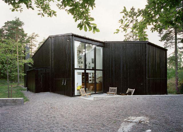 Nacka-Sweden-In-Praise-of-Shadows-black-wooden-construction