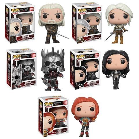 Pop Games The Witcher Geralt Triss Eredin Yennefer Ciri Vinyl Figures Set of 5 >>> Learn more by visiting the image link.Note:It is affiliate link to Amazon.