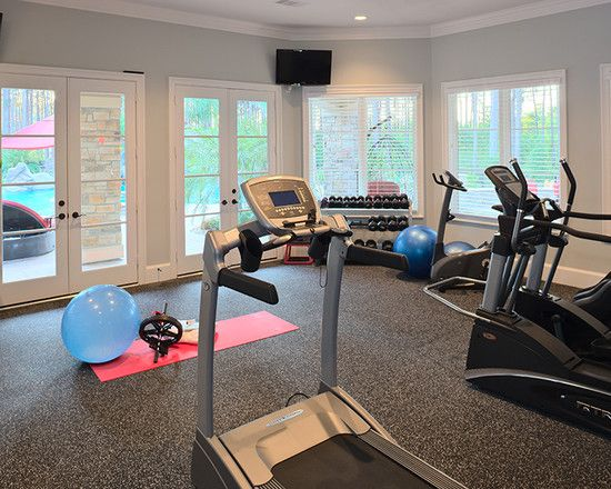 I would LOVE a home gym some day!