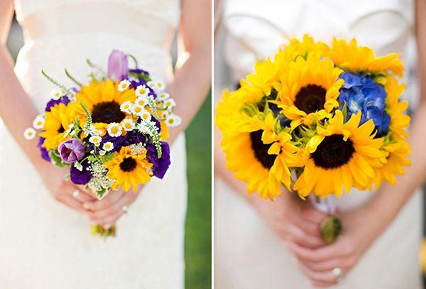 neue brautstrau ideen mit sonnenblumen friedatheres sonnenblumen lieblingsblumen. Black Bedroom Furniture Sets. Home Design Ideas