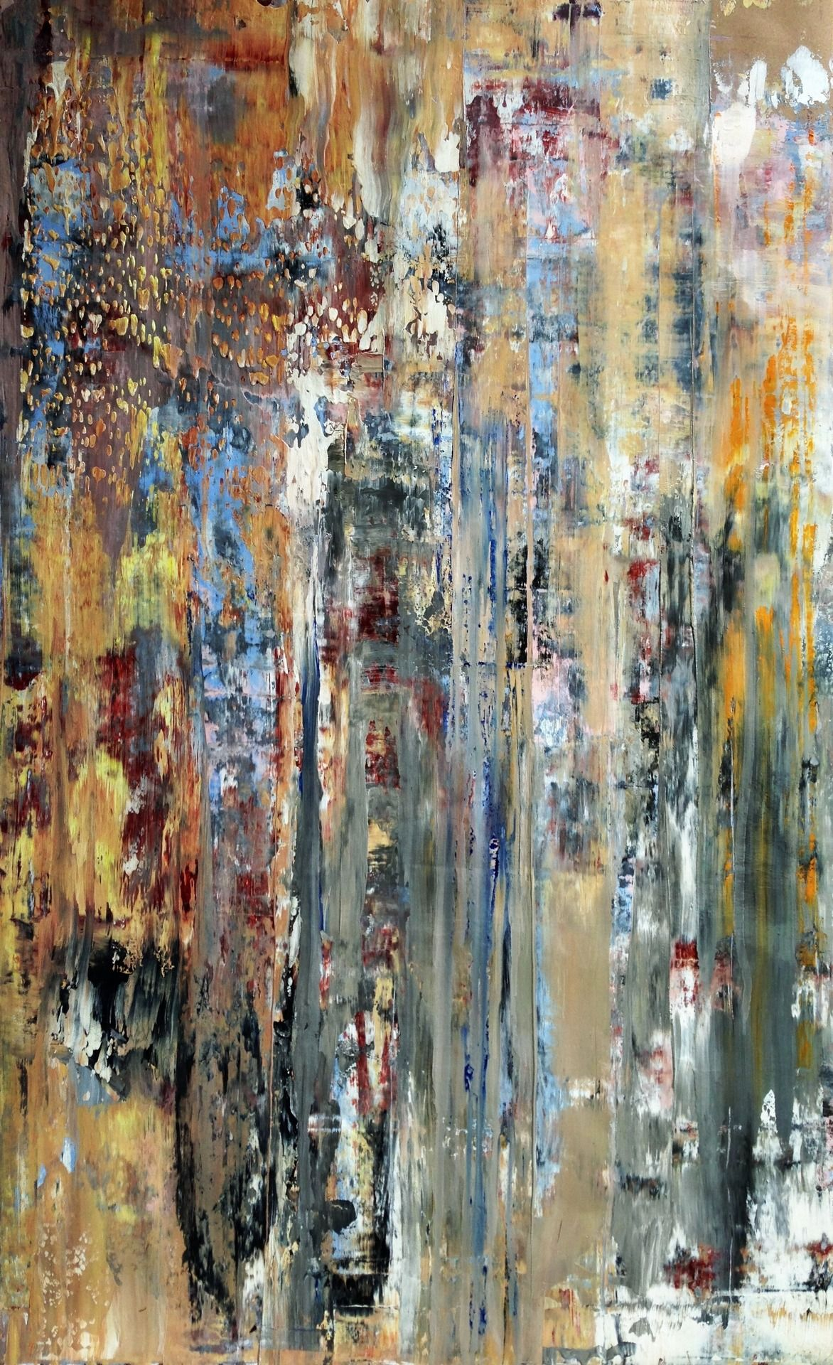 """angrywhistler:  by AngryWhistler Oil on Paper, 36""""x56"""""""