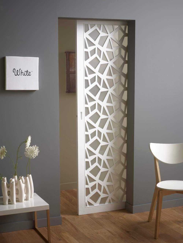 Porte Coulissante A Galandage Lapeyre Maison Design Bahbe Com Avec Porte A Galandage Lapeyre Idees Et Porte Co Jali Design Doors Interior Modern Doors Interior