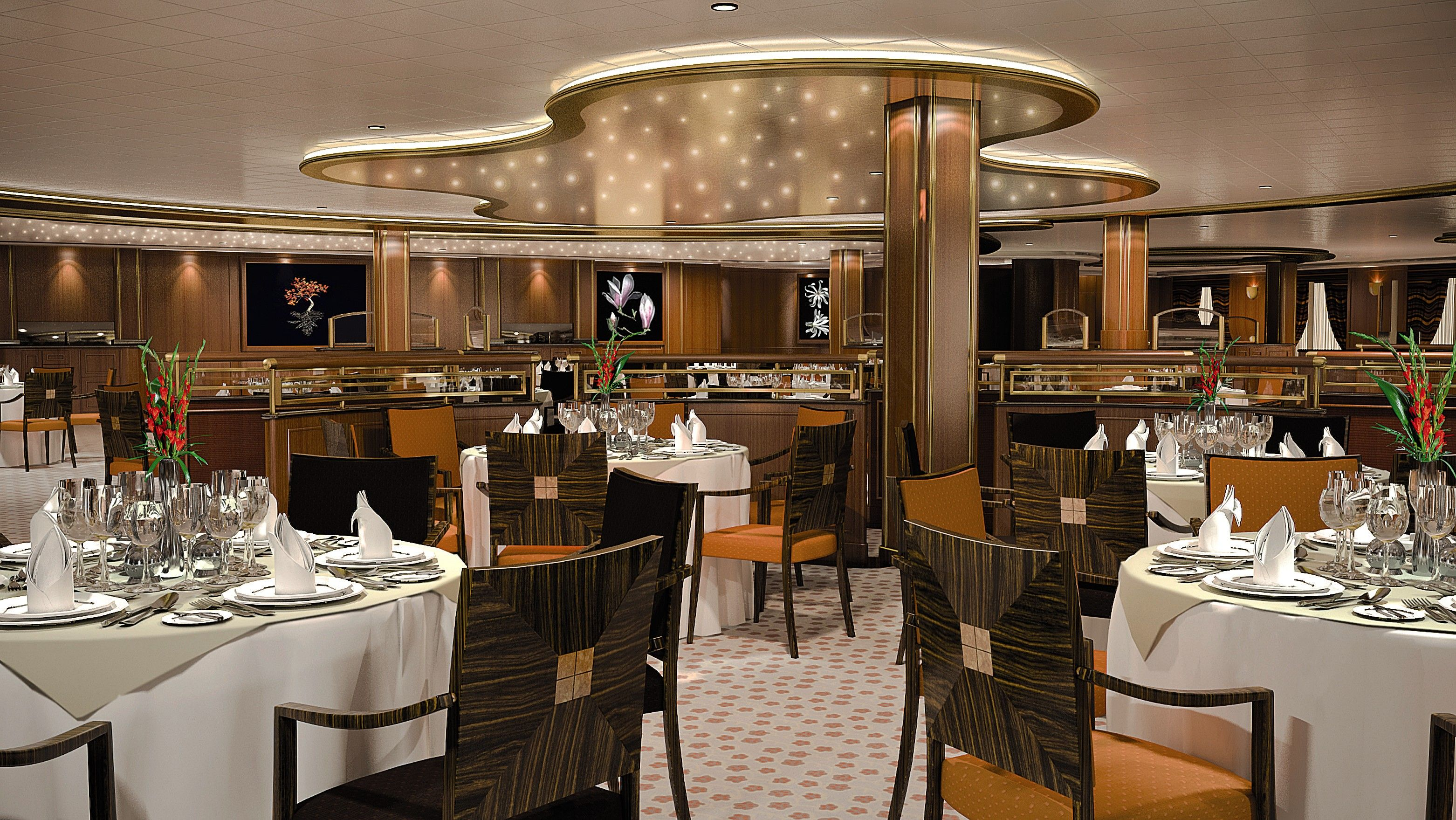 Dining area the azura p o cruises pinterest cruises dining area the azura baanklon Image collections