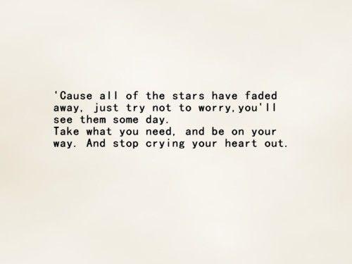 Stop Crying Your Heart Out Oasis Oasis Lyrics Lyrics To Live By Music Lyrics