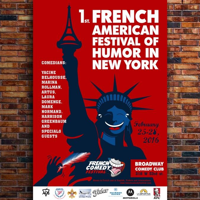 French Comedy Festival in New York City by Abzolut