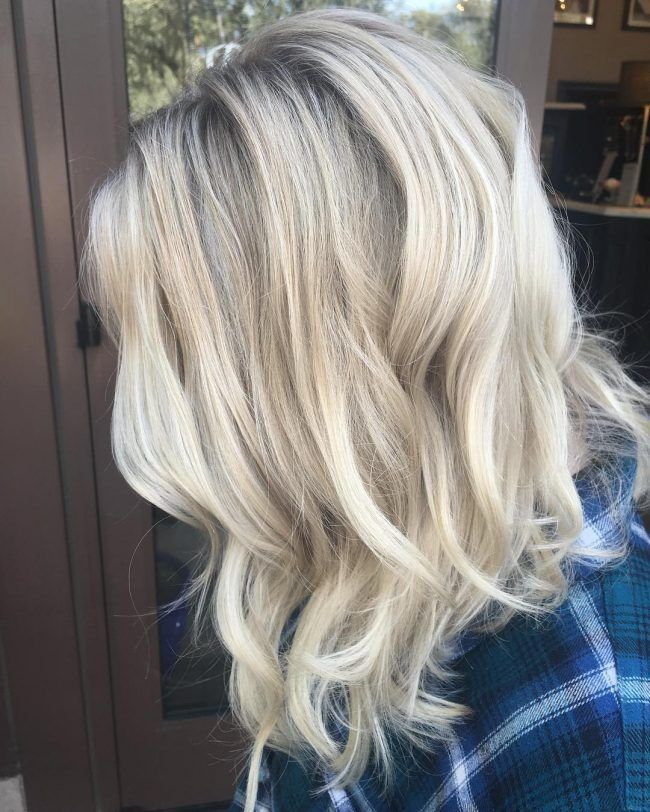 Blonde Long Bob Hairstyles 2017 50 Ideas For Platinum