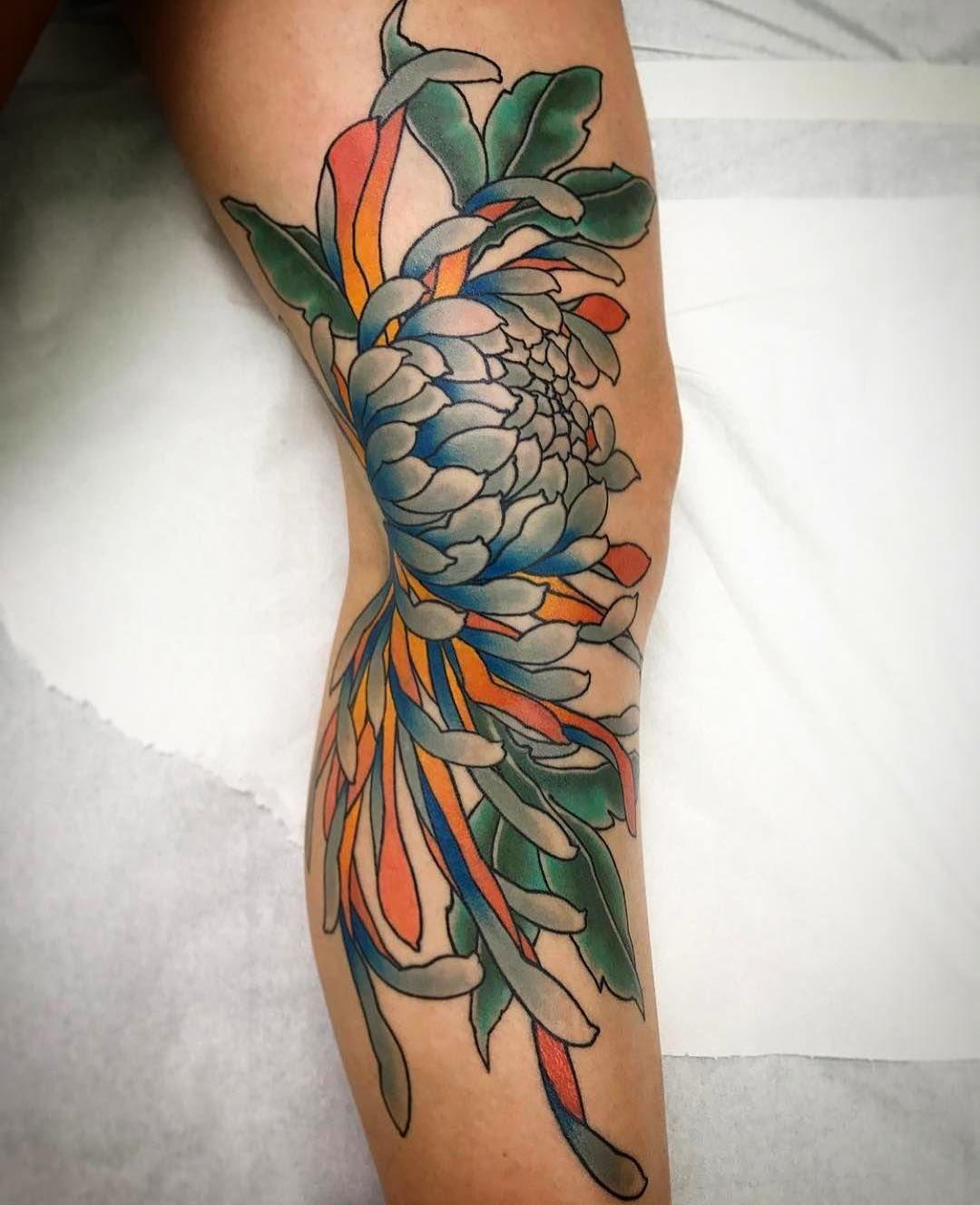 Asiatische tattoos arm