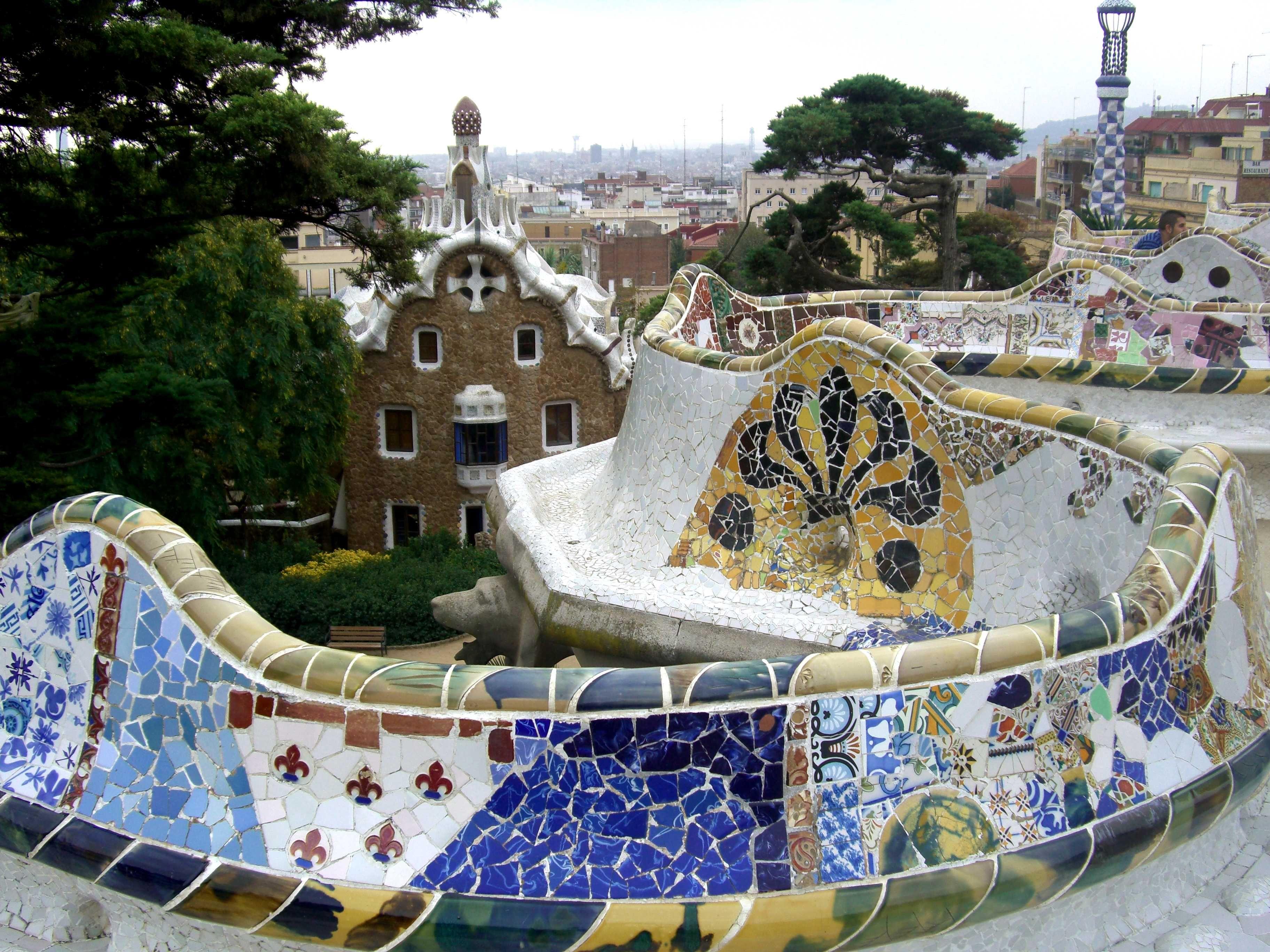 Images For > Gaudi Park Night | Gaudi Inspirations ...