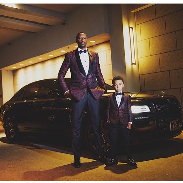 8095d71f93 Father and son in matching tuxedos by @fellowsuits    Photo by @ericpaul…