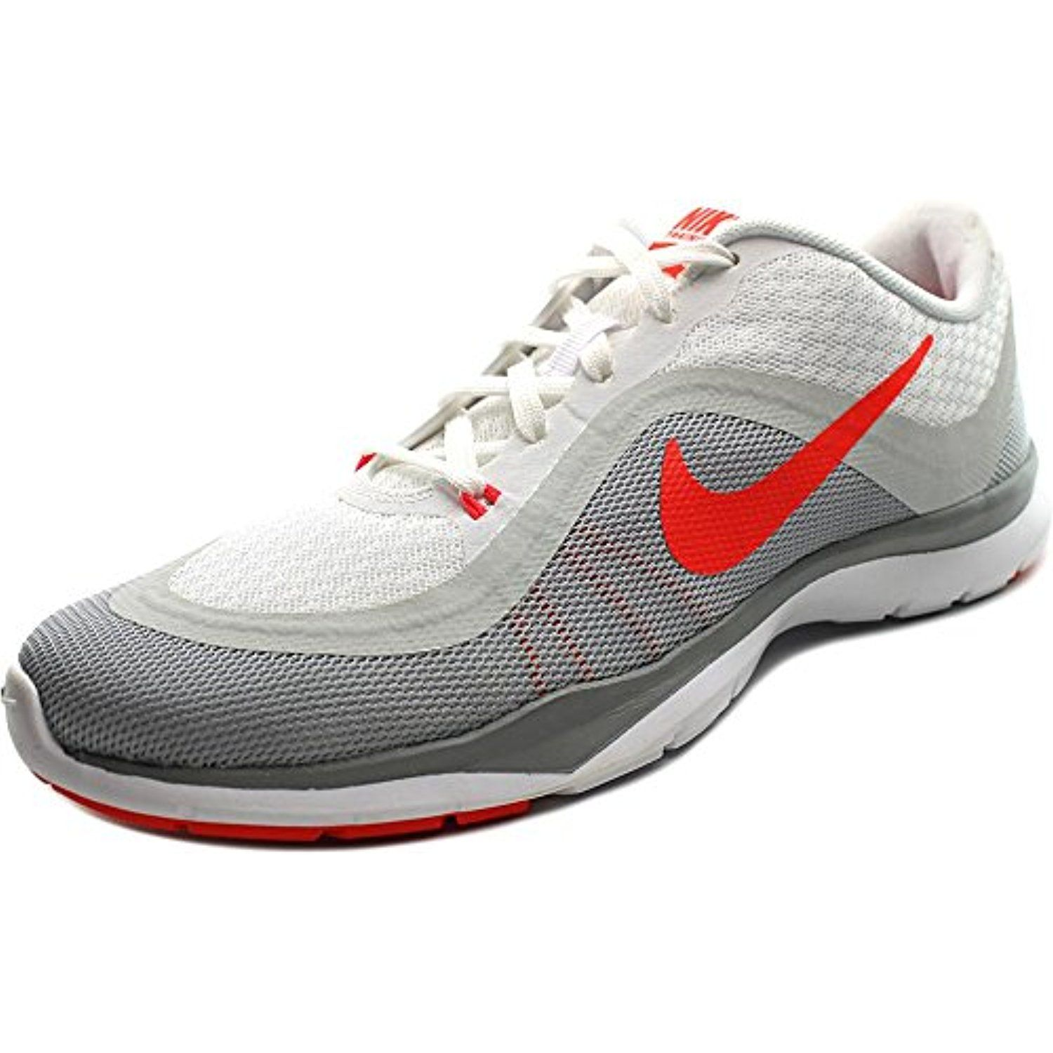 fbfded87e1f Nike Flex Trainer 6 Women US 7 Gray Running Shoe. The style name is Flex  Trainer The style number is 831217 Brand Color  White Bright Crmsn-Pr  Pltnm-Wlf ...