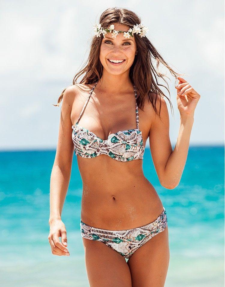 192bc416ef4 balconette bikini with adjustable straps / adore me   WEAR   Bikinis ...