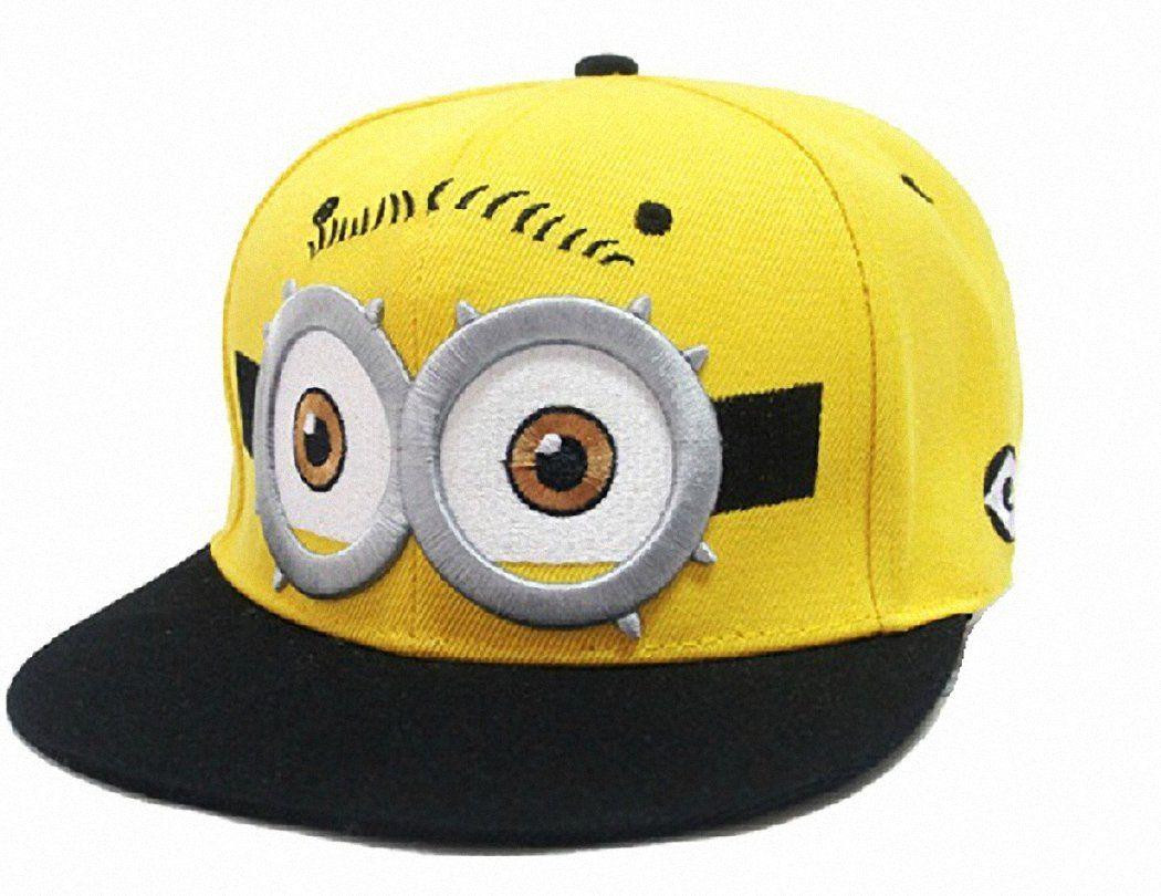 eb772b738f70 Dandelion Dreams ,Moi Moche Et Méchant Minion ,Casquette de baseball,  chapeau ,jaune  Amazon.fr  Sports et Loisirs