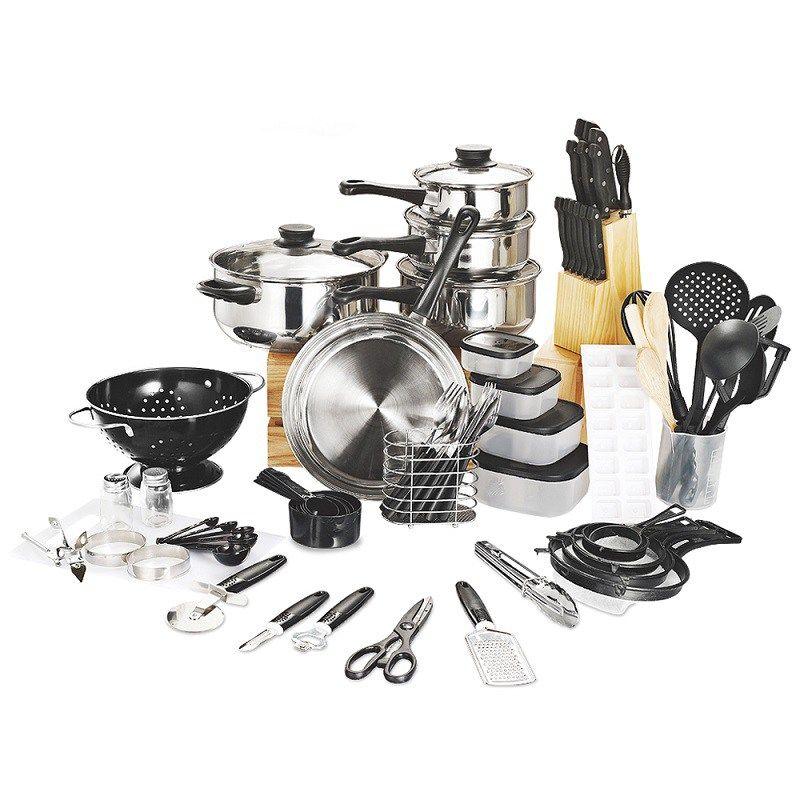 80 Piece Kitchen Starter Set