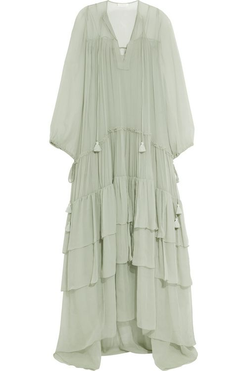 16 Robes Romantiques Pour L Ete 2016 Robe Romantique Mode Intemporelle Robe Longue Mousseline