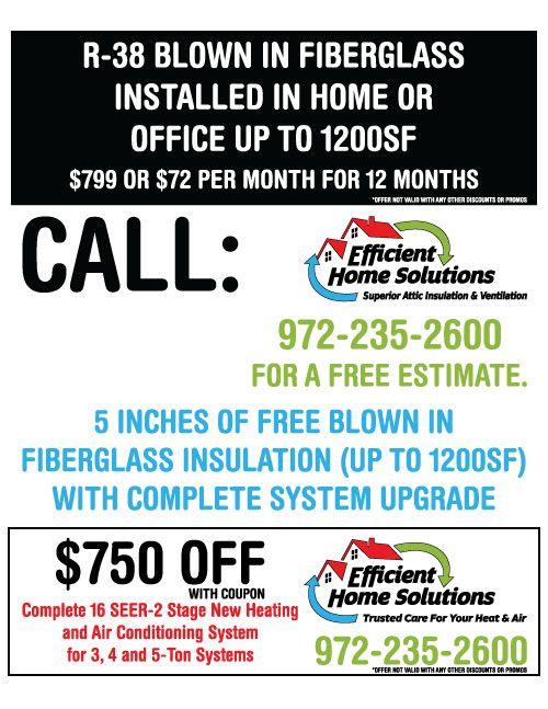 A Whole Page Of Dallas Hvac Ac Repair Savings You Better Believe It Hvac Services Hvac Fiberglass Insulation