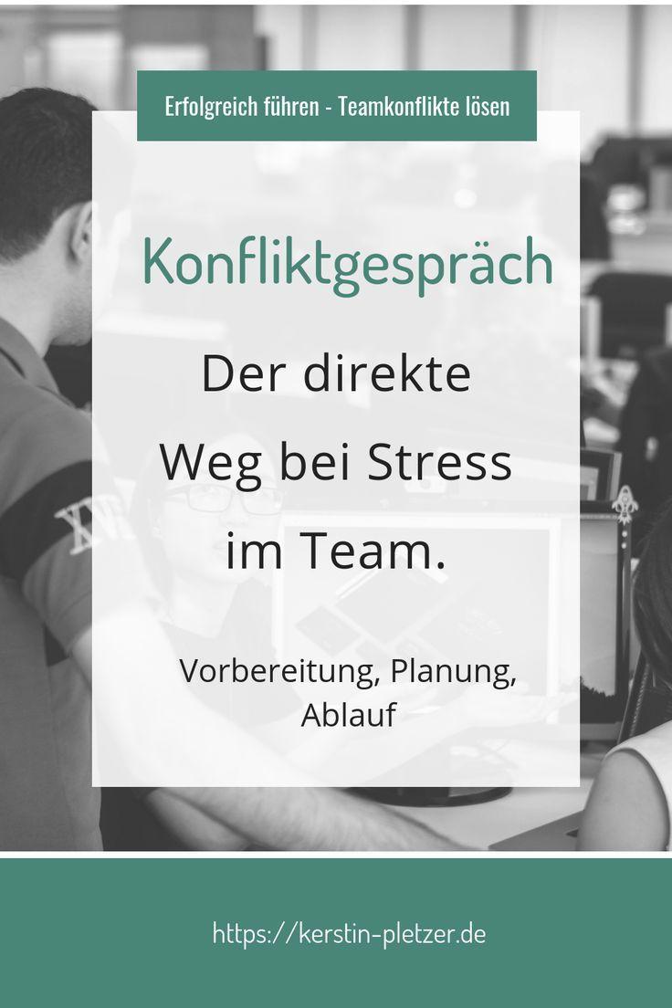 Konfliktgespräch: der direkte Weg bei Stress im Team #kitaräume