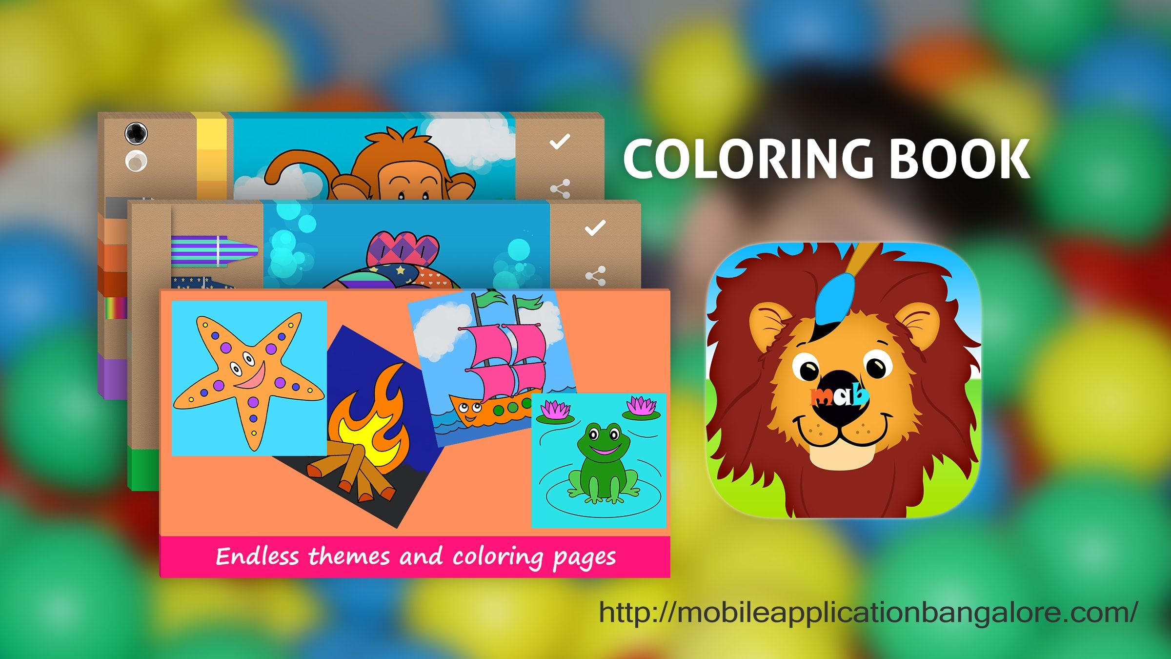 Coloring Book Android Mobile App 2017 Is A Kind Of Entertainment