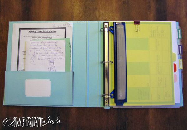 Home Management Binder!