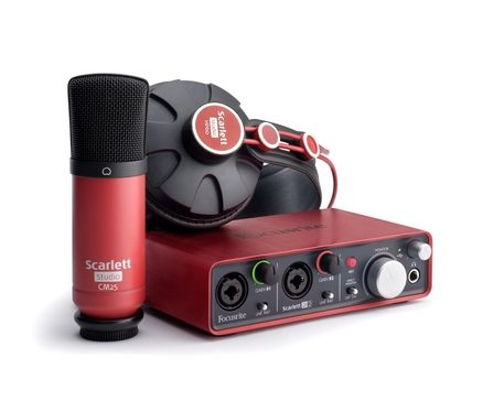 focusrite scarlett studio is a complete home studio package from this leading professional audio. Black Bedroom Furniture Sets. Home Design Ideas