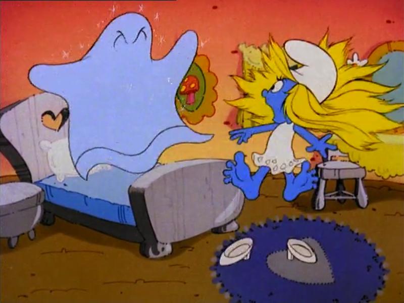 From Season 2s The Box Of Dirty Tricks Smurfs Smurfette Smurfs