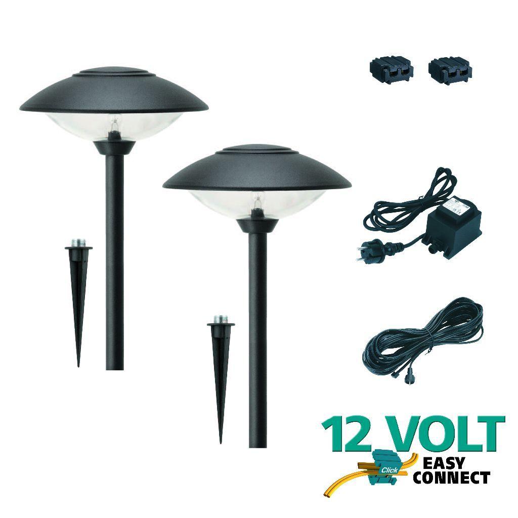 Luxform 12v Tuinpaalset 2x Toledo Startset 2 Lampen Trafo Kabel En Kabelconnectors Super Sale Prijs 56 24 Https Www G Tuinverlichting Buitenverlichting