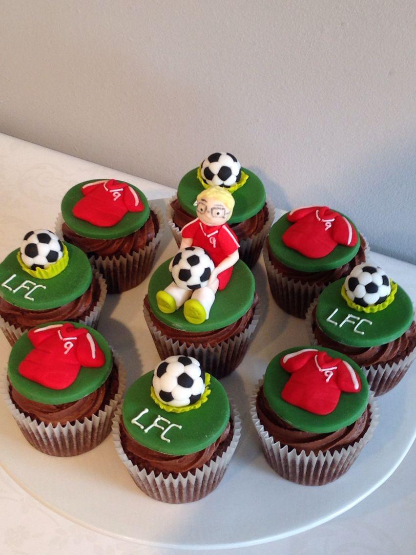 Liverpool Cupcakes Juan Cupcakes Christmas Cupcakes Bake My Cake