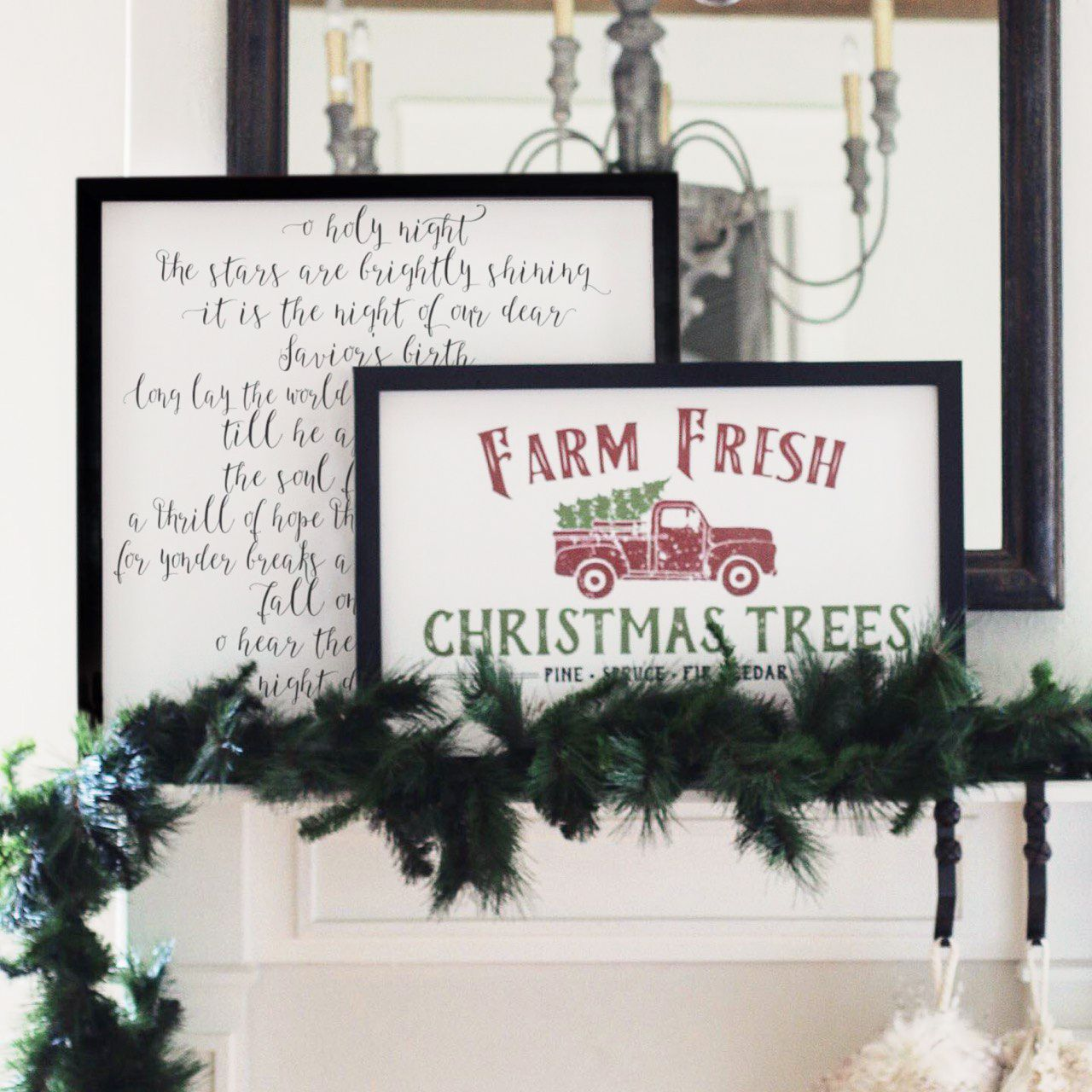 Our First Christmas Gift To You All Holiday Wood Framed Signs Now Under 50 Fresh Christmas Trees Christmas Decorations To Make Christmas Tree Farm