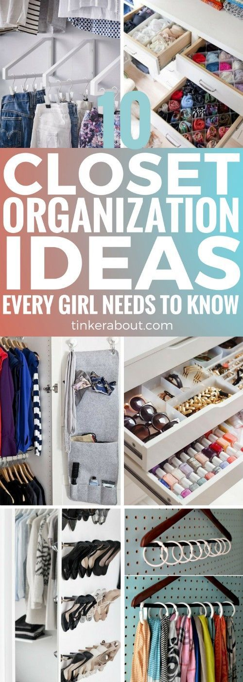 10 Closet Organization Ideas To Keep Your Bedroom Organized images