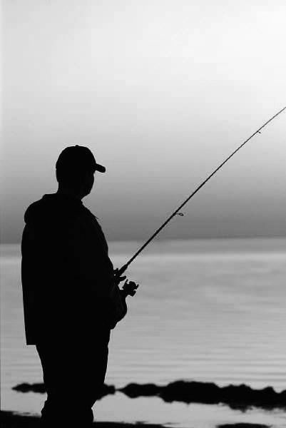 Man Fishing Want To Find Out Fishing Secrets That Will