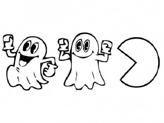 Desenhos Para Colorir Do Pac Man