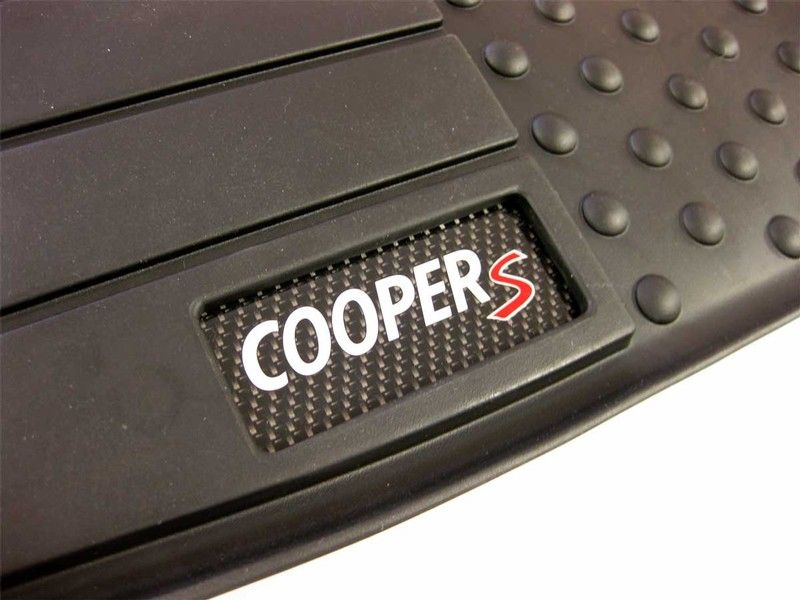 parts s genuine floor set factory es as mats cooper b rubber front priced mat logo mini