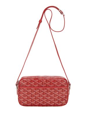 8b1a94db25f Vintage Goyard red monogram coated linen sac capvert bag 1300 ...