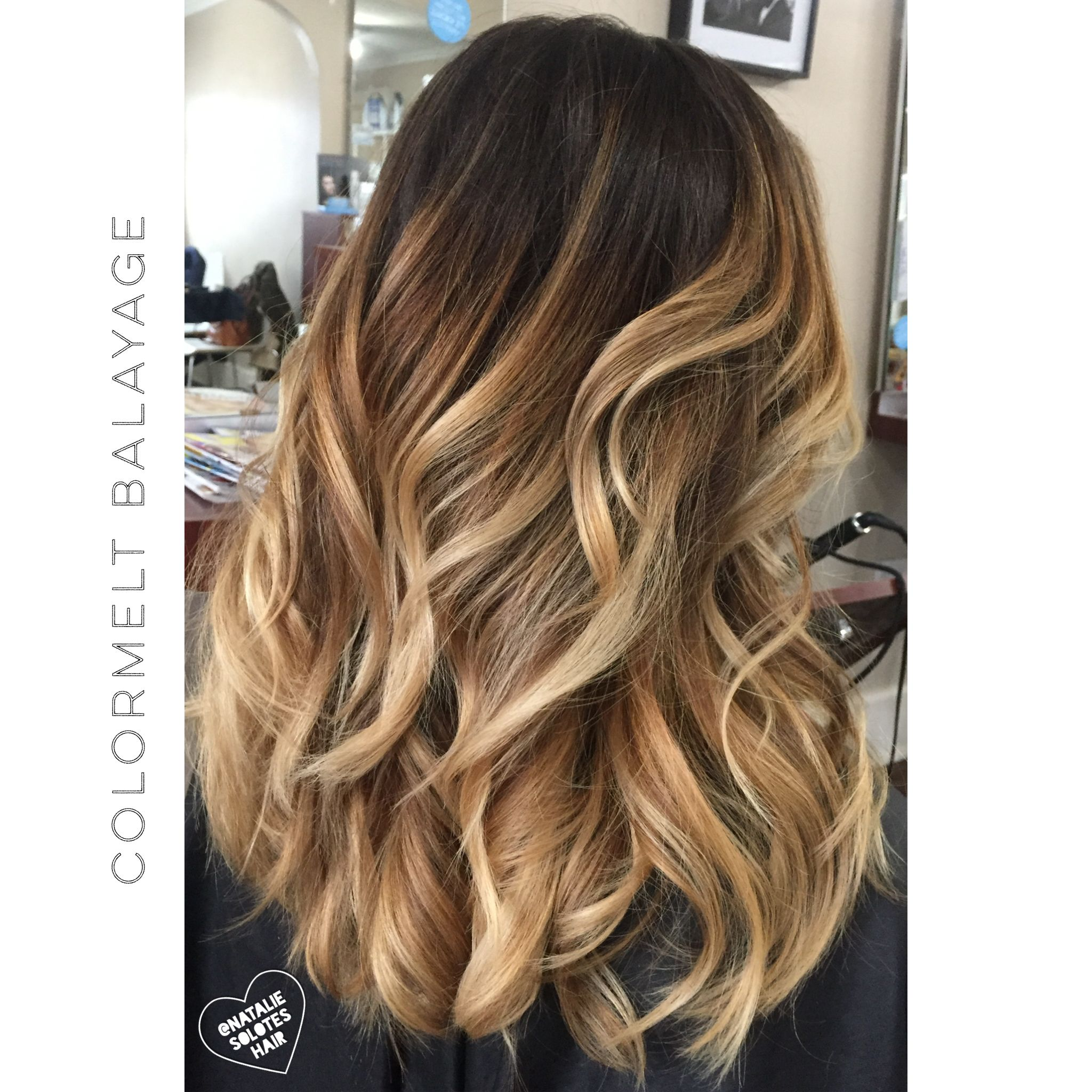 Bronde Balayage Technique Blonde Natural Hair Painting Fluid