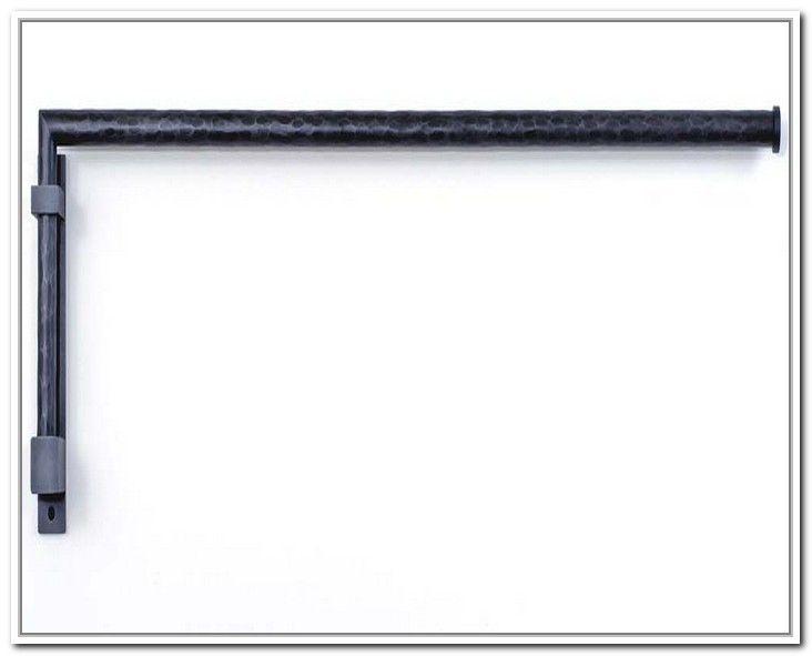 heavy duty swing arm curtain rod