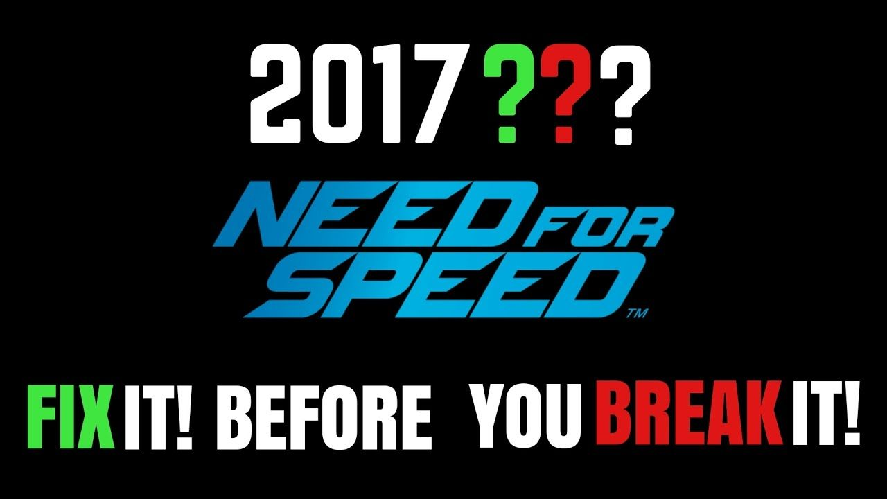 SUGGESTED IMPROVEMENTS || NFS 2017(Unannounced)