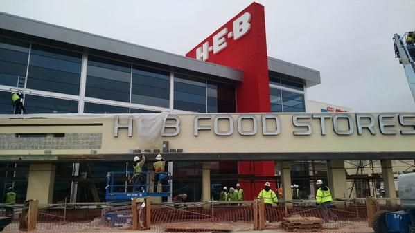 H E B Debuts Its First Two Story Market In Texas H E B Grocery Grocery Store