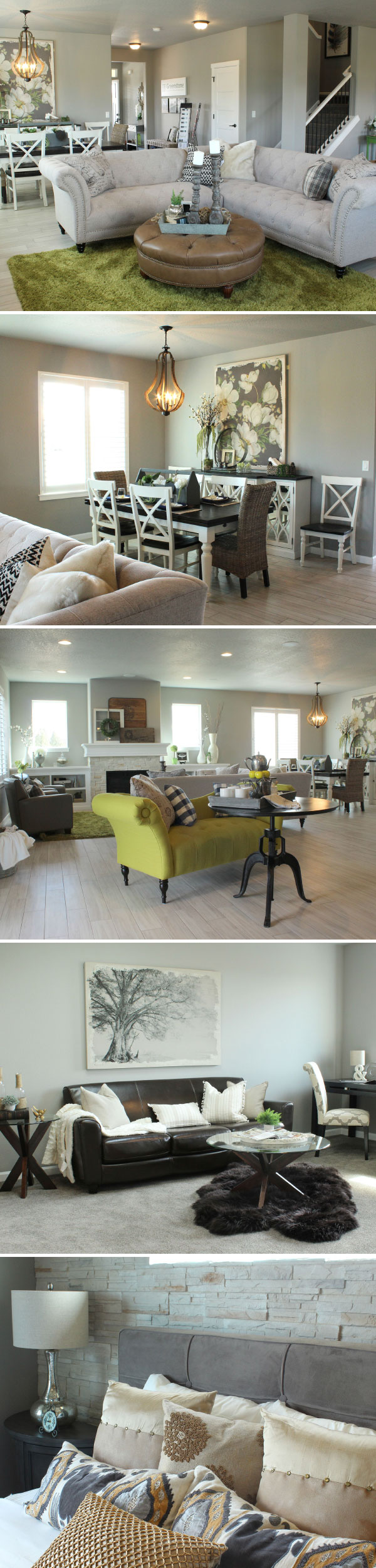 Modern Farmhouse Style With Green Accents. Furniture And Decor By The Tin  Roof In Spokane